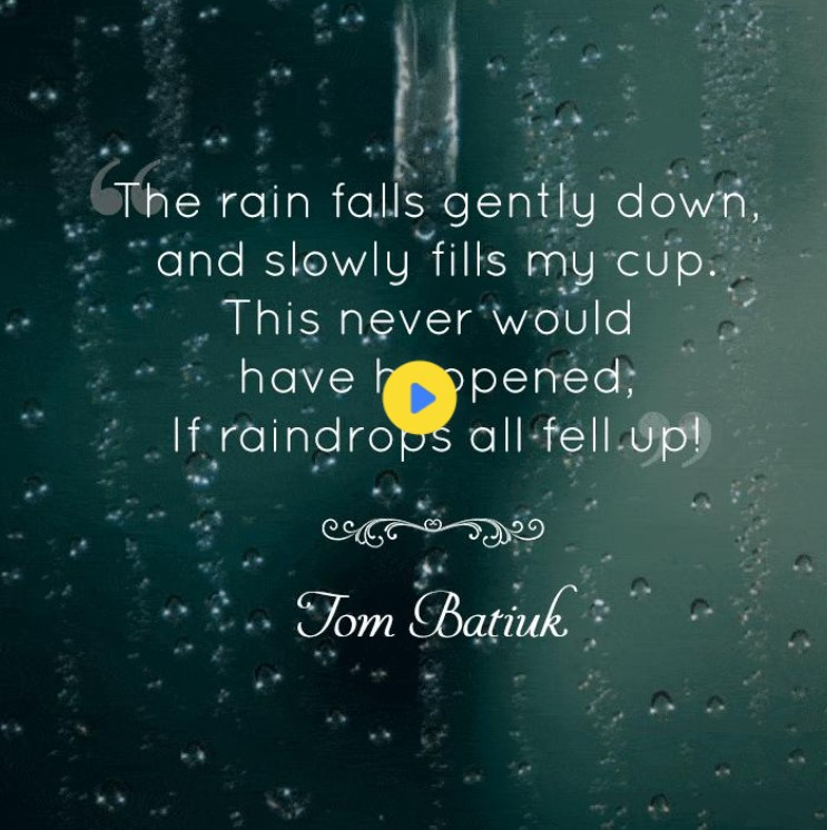Rainy Day Quotes For Work