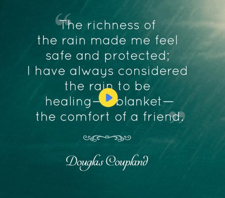 Romantic Rain Messages