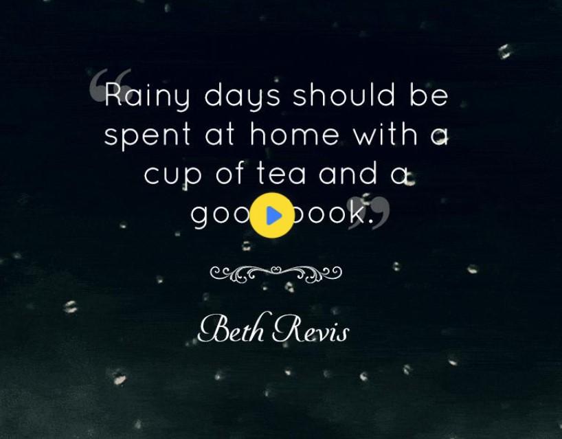 Romantic Rain Quotes For Him