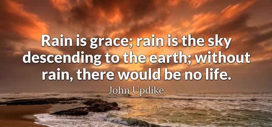 Romantic Rainy Day Quotes
