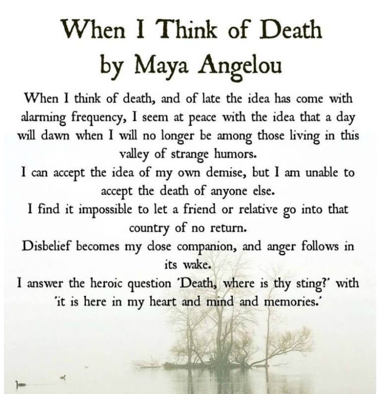 best inspirational quotes about the death of a loved one