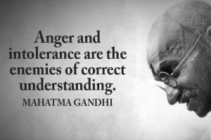 Anger Quote Gandhi