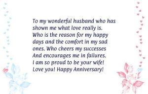 Anniversary Quote Husband