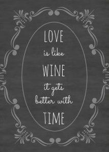 Anniversary Quotes Love Wine