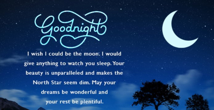 Cute 90+ Good Night Quotes and Wishes for her/him - Quotes Yard