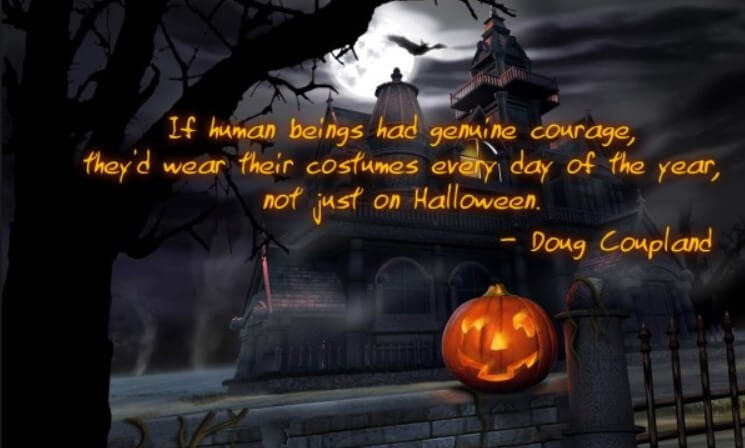 Halloween English Quotes