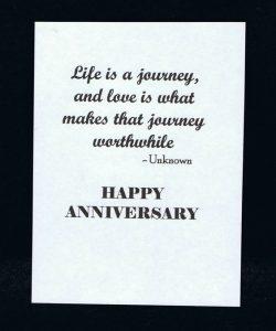 Happy Anniversary Quote