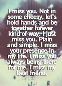 50 Best I Miss You or Missing Someone Quotes and Sayings ...