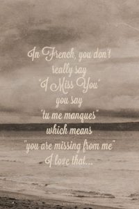 Missing Quote