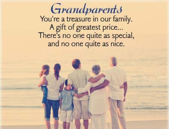 Nice Sayings For Grandparents Day