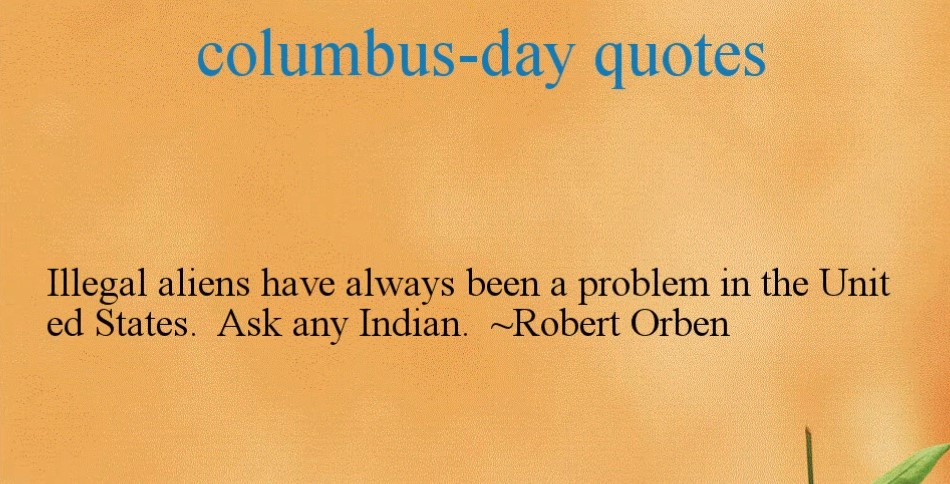 Quotes On Columbus Day