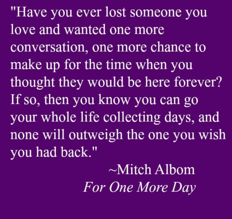 Sayings For A Loved One Who Passed Away