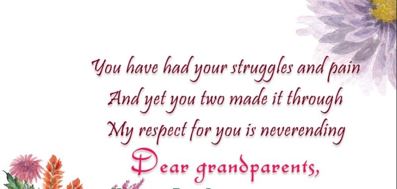Sweet Messages For Grandparents