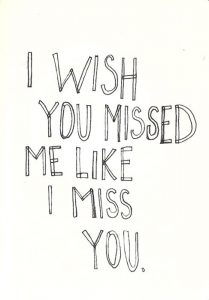 Wishyoumissed