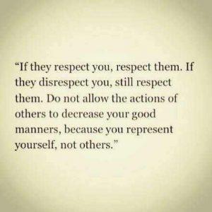 Best Respect Quotes Images Sayings 37