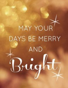 Christmas Day Quotes Month