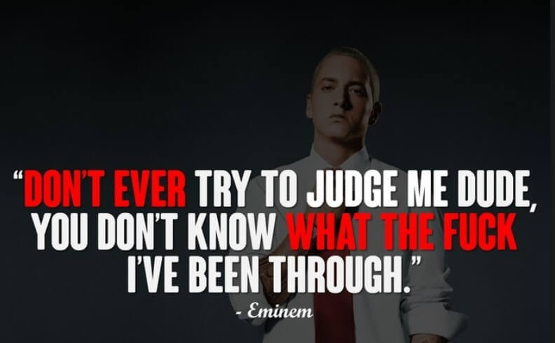 Eminem Inspirational Lyrics