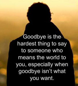Goodbye Farewell Quote
