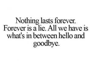 Goodbye Quote Saying