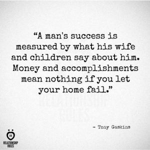 Husband Love Quote Success