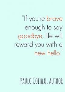 Say Goodbye Quote