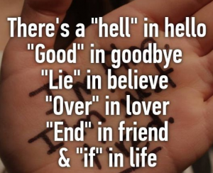 Saying Goodbye Quote
