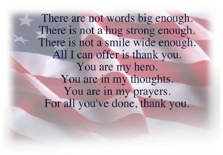 Veterans Day Gratitude Quotes