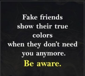 Real Friends Vs Fake Friends Quotes
