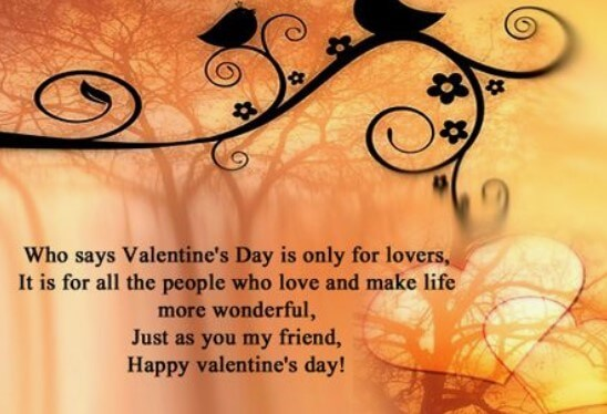 Valentines Day Quotes About Family And Friend