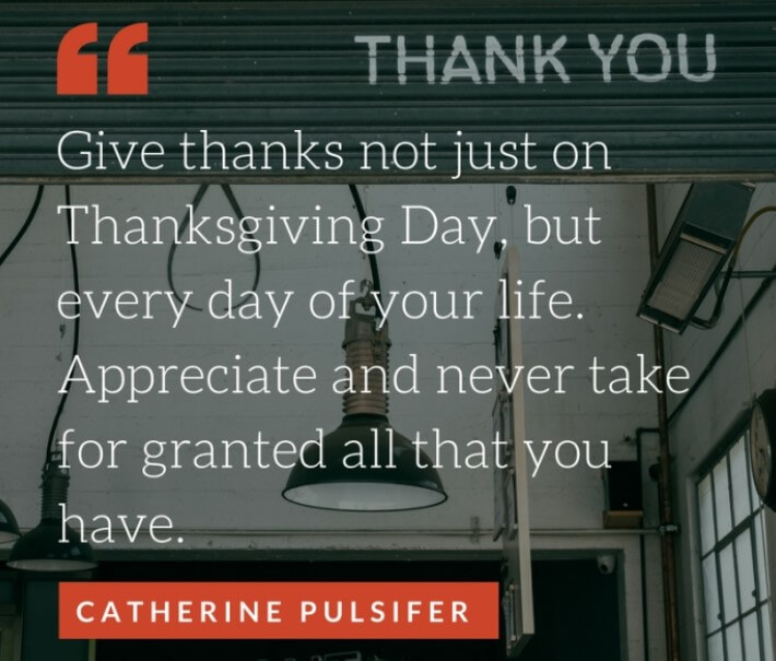 Thanksgiving Day Business Quotes