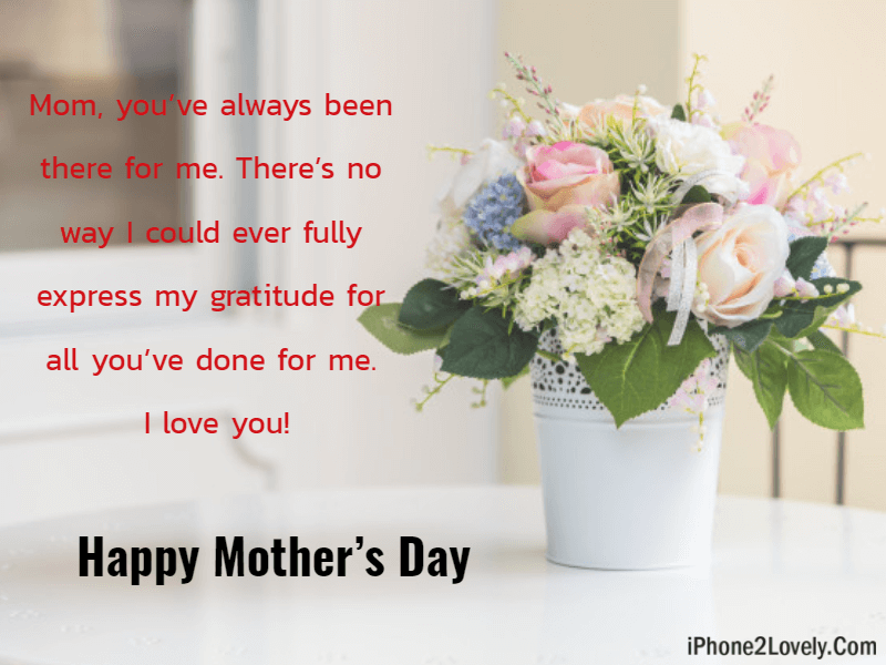 Cute Greetings From Son To Mom Happy Mothers Day