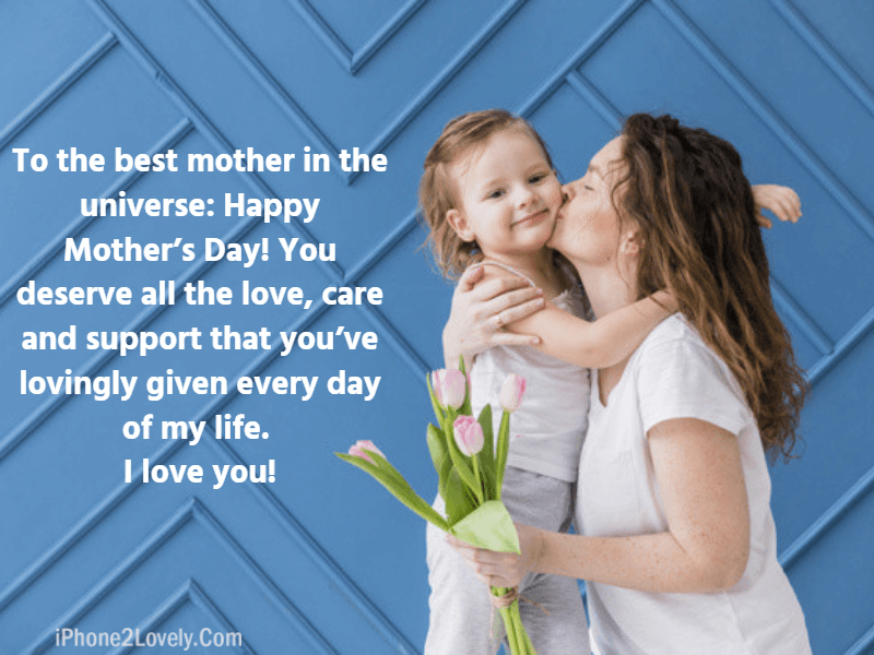 Cute Mothers Day Quotes From Daughter For Greeting Ecards