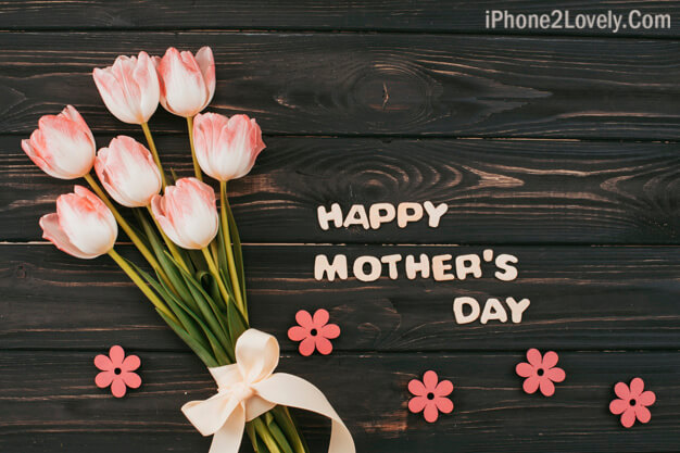 Dark Elegant Mothers Day Wallpaper
