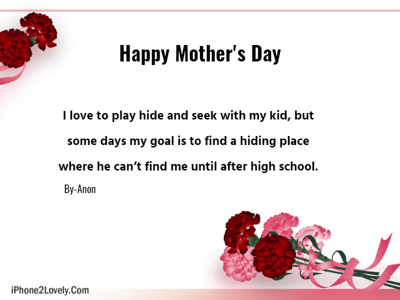Funny Mothers Day Quotes For Cards