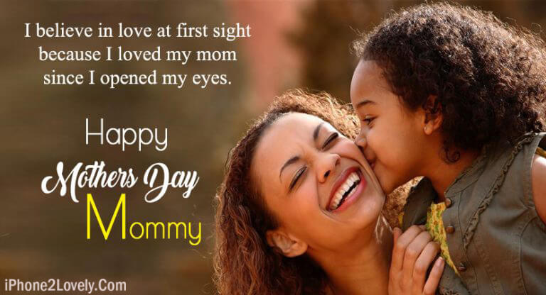 Mom Day Wishes From Daughter Happy Mothers Day