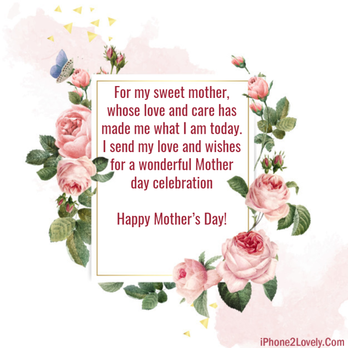 Mother's Day Quotes And Wishes To Write On Flowers
