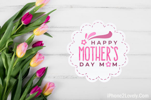 Mothers Day Wishing Wallpaper Hd Background