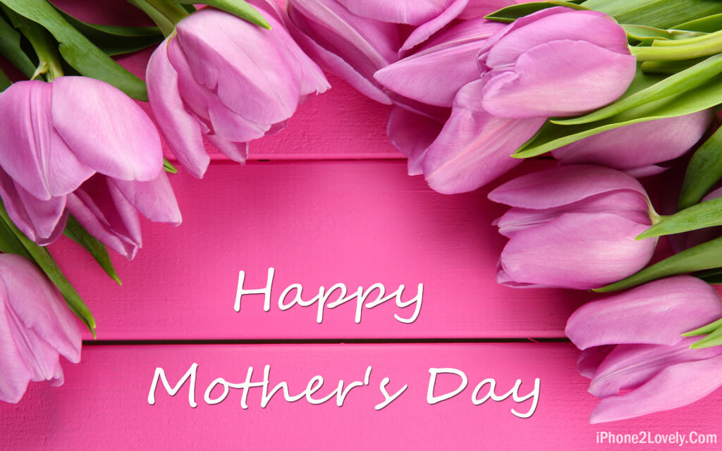 Pink Mothers Day Wallpaper Hd