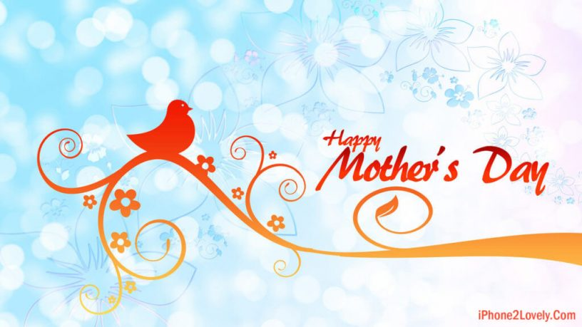 Stylish Happy Mother's Day Wallpaper