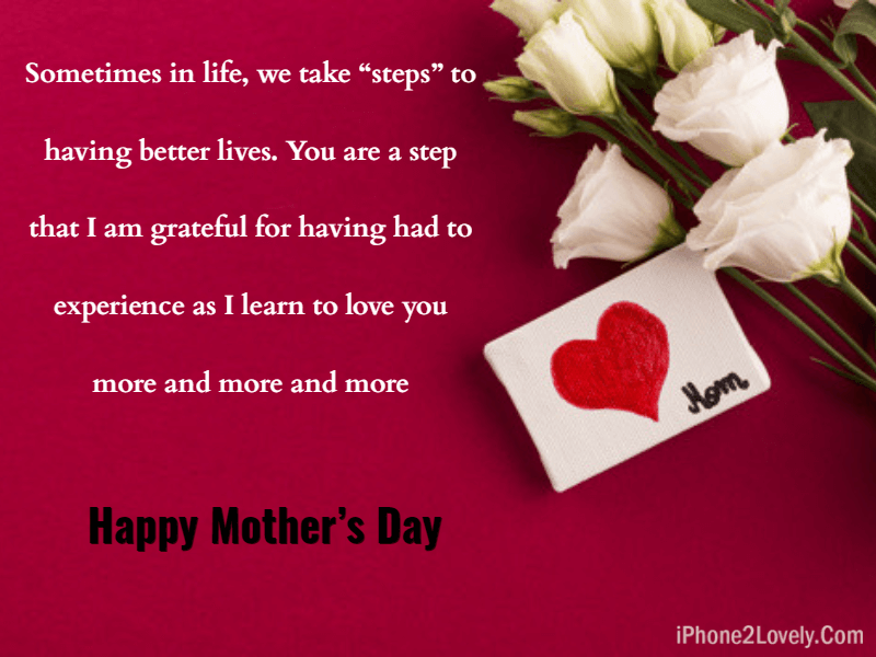 Being A Stepmom Is Hard Mothers Day Quotes