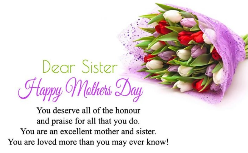 Happy Mothers Day Sister 2019