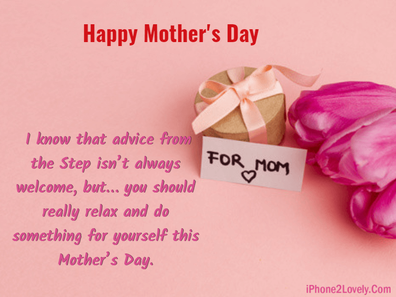 Mothers Day Messages For Stepmom