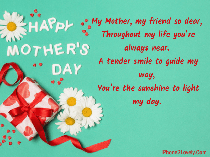 Mothers Day Poems To Wish Mom
