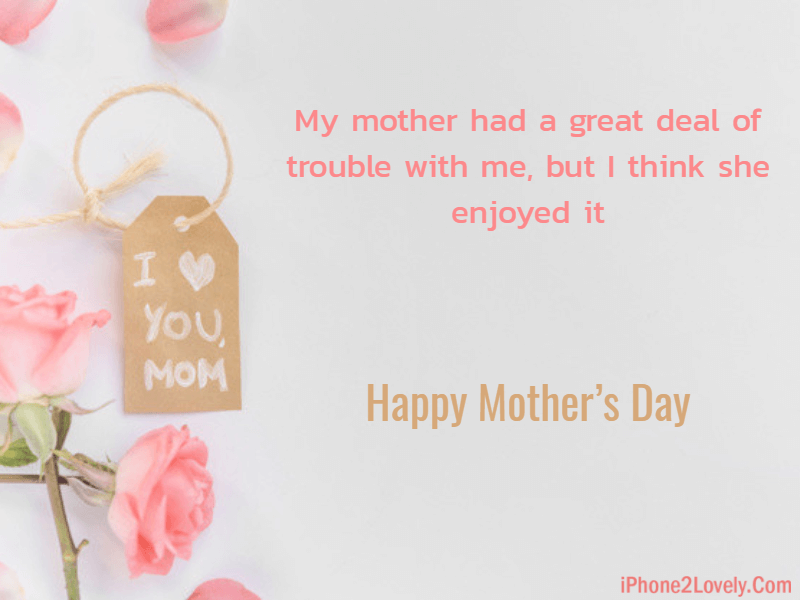 Short Mothers Day Quotes From Son
