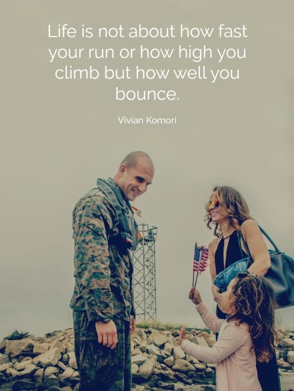 Inspirational Quotes For Soldiers Deployed
