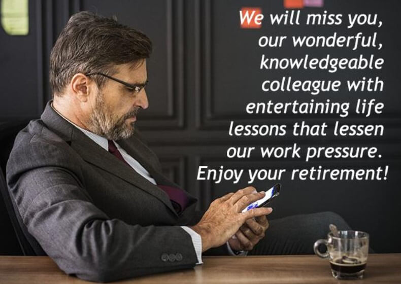 Retirement Quotes For Best Boss