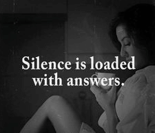 A Meaningful Silence Quotes