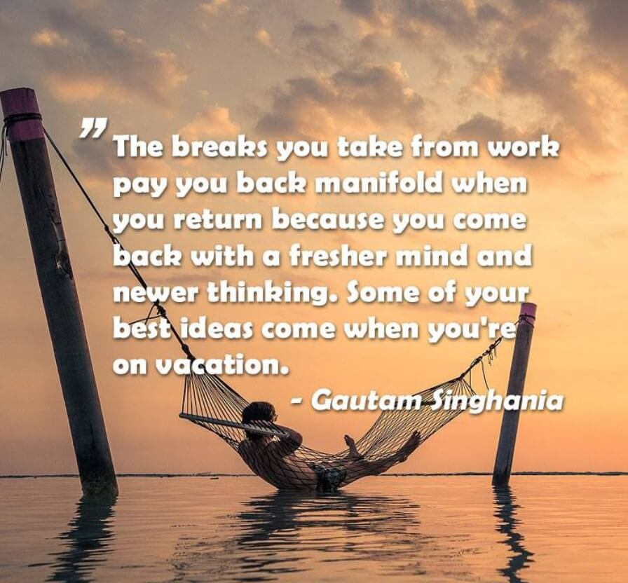 A Vacation Quotes