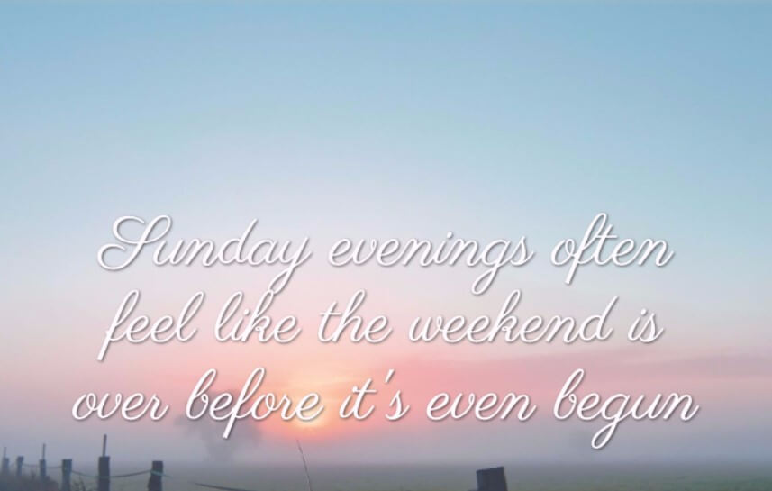 A Weekend Away Quote