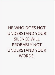 A Women's Silence Quotes